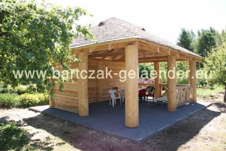 garten holzpavillon gartenpavillon g nstig preise bei gelaender online. Black Bedroom Furniture Sets. Home Design Ideas
